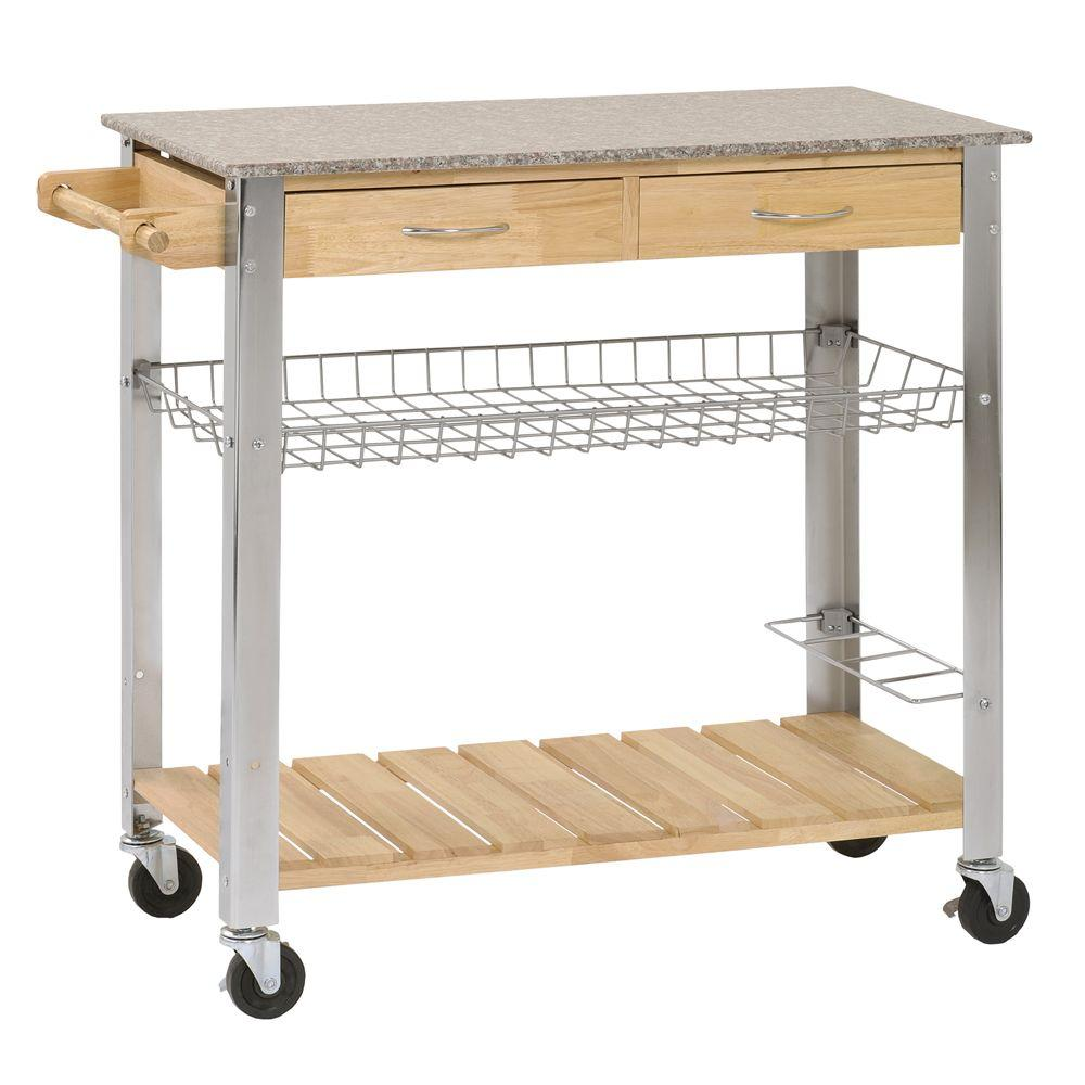 null 37 in. W Utility Cart