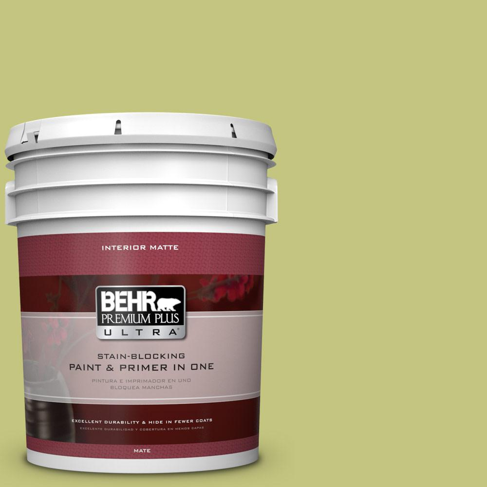 5 gal. #P360-4 Soda Pop Matte Interior Paint