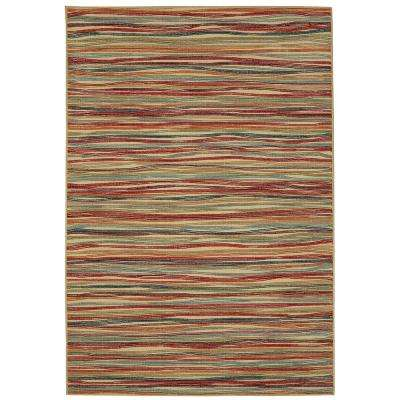 Melody Stripe Multi 7 ft. 6in. x 10 ft. Area Rug