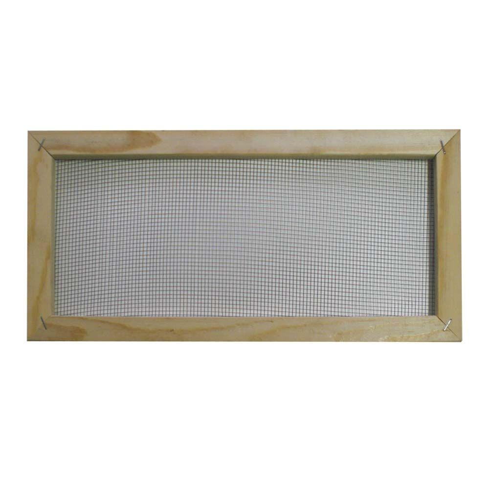8 In X 16 In Wood Rectangle Soffit Vent 07888 The Home