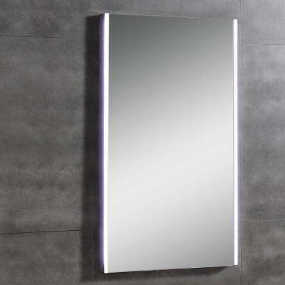 Heywood 20 in. L x 31 in. W Single Wall LED Mirror in Chrome