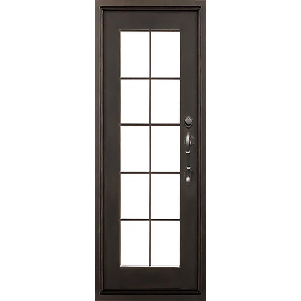 Easy Install Exterior Prehung Iron Doors Front Doors The