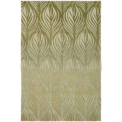 Island Palms Green 5 ft. x 7 ft. 6 in. Area Rug