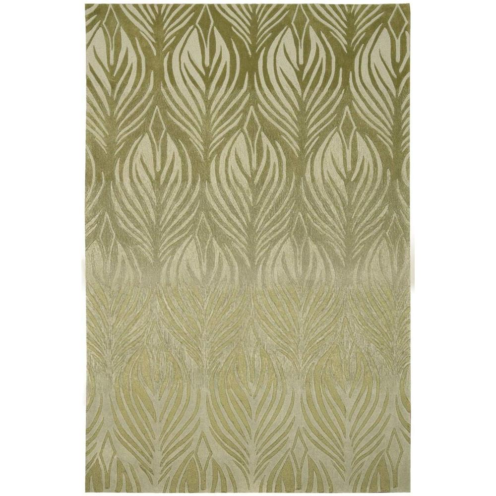 Nourison Island Palms Green 8 ft. x 10 ft. 6 in. Area Rug