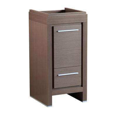 Allier 16 in. Modern Bathroom Vanity Cabinet in Gray Oak