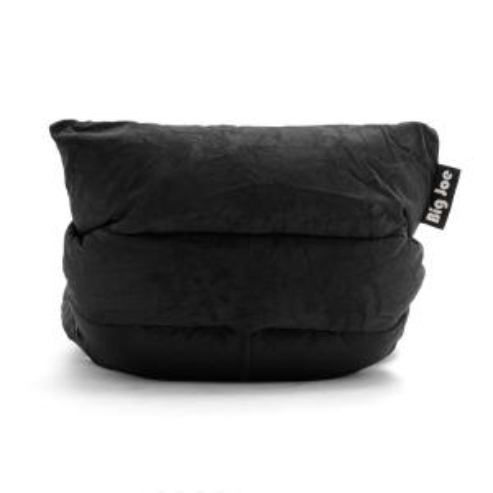 Fabulous Big Joe Roma Chair Black Comfort Suede Plus Bean Bag 0657378 Beatyapartments Chair Design Images Beatyapartmentscom