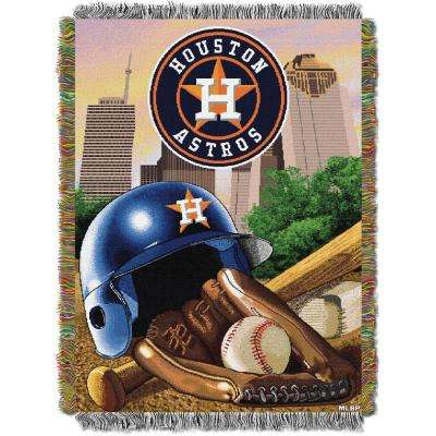 Astros Multi Color Home Field Advantage Tapestry Throw