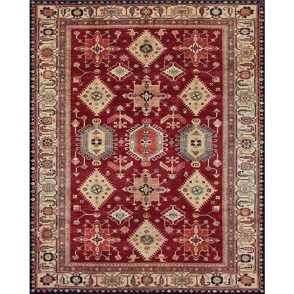 Washable Rugs For Kitchen Area: Ruggable Washable Noor Ruby 8 Ft. X 10 Ft. Stain Resistant