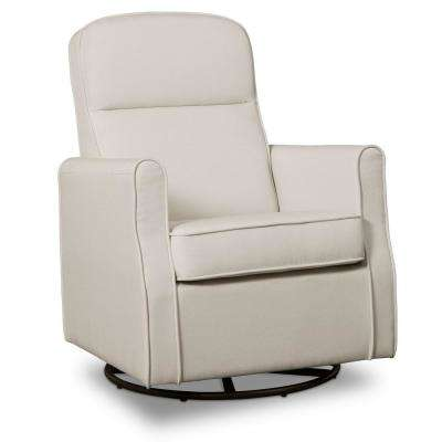 Cream Blair Glider Swivel Rocker Chair