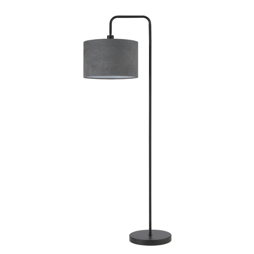 Barden 58 In Black Floor Lamp
