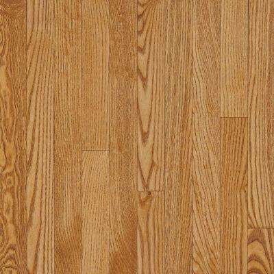 Take Home Sample - American Originals Spice Tan Oak Engineered Click Lock Hardwood Flooring - 5 in. x 7 in.