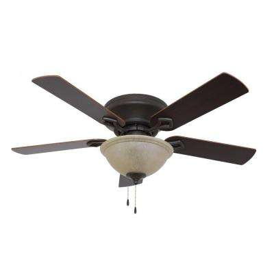 Bennington 52 in. Bronze Ceiling Fan
