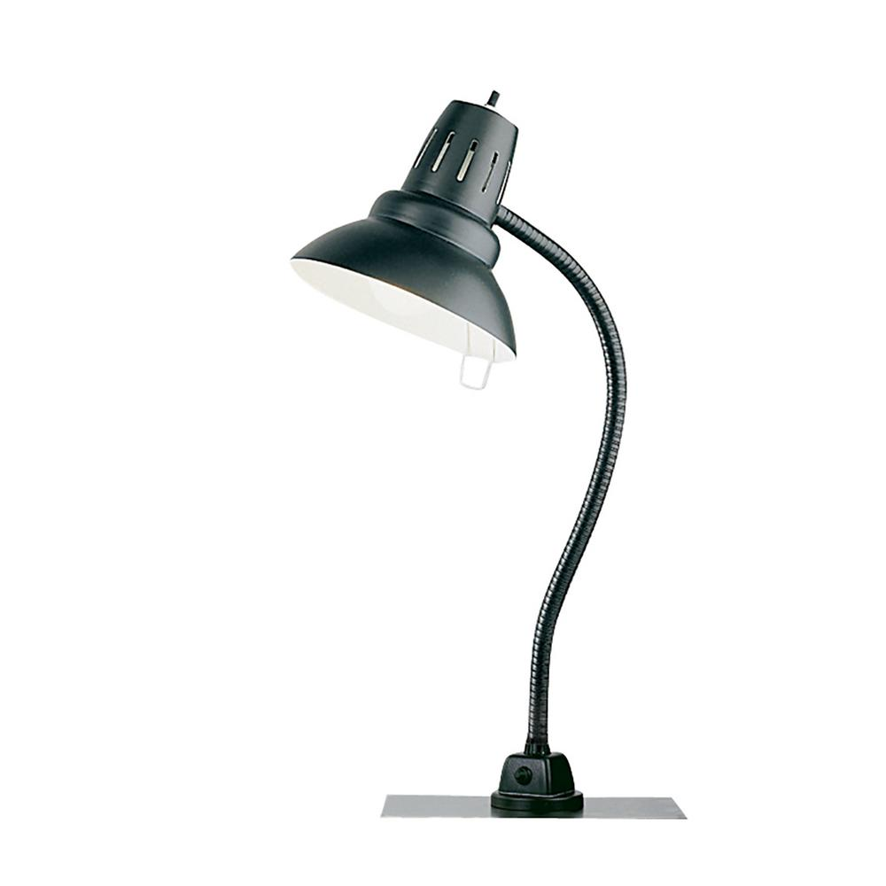 22 in. Black Metal Heavy Duty Magnetic Base Task Light with