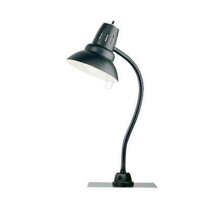 22 in. Black Metal Heavy Duty Magnetic Base Task Light with LED Bulb Included