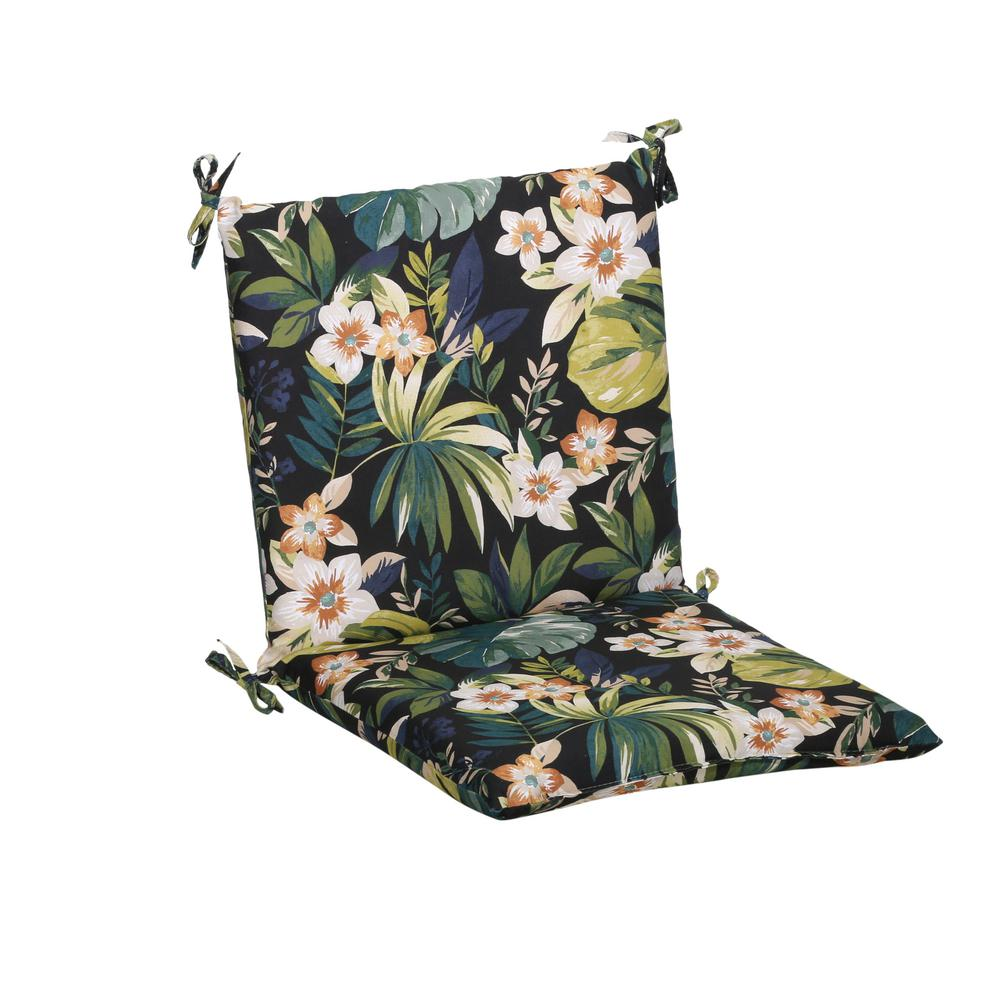 Caprice Tropical Mid-Back Outdoor Dining Chair Cushion