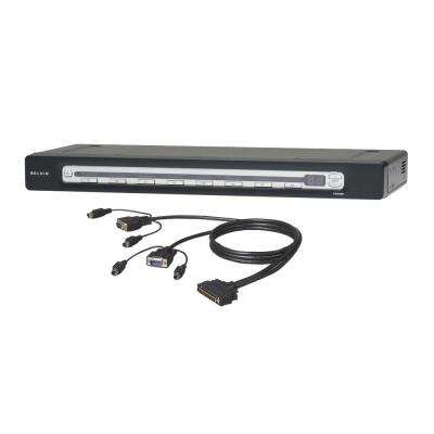 8-Port KVM Switch PS2 and USB