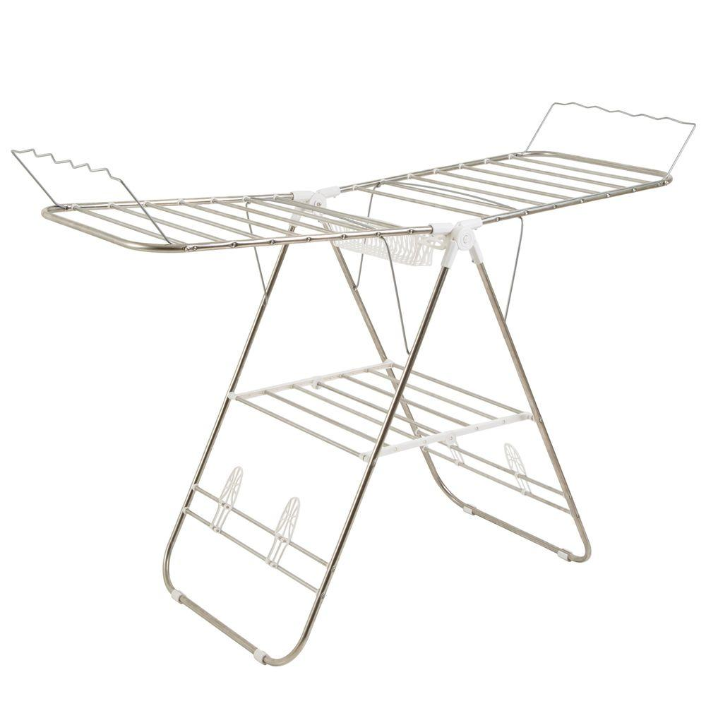 Everyday Home Sturdy Adjustable Gullwing Drying Rack