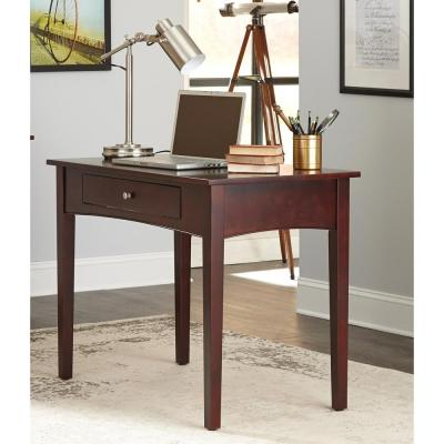 espresso writing desk