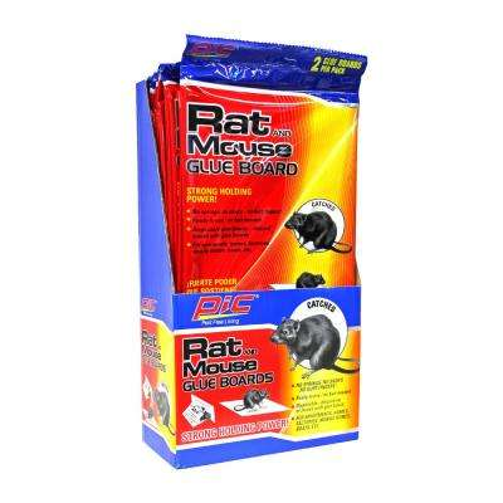 Glue Large Rat Board Traps (2-Pack/Case) (Total Number of Boards - 48)