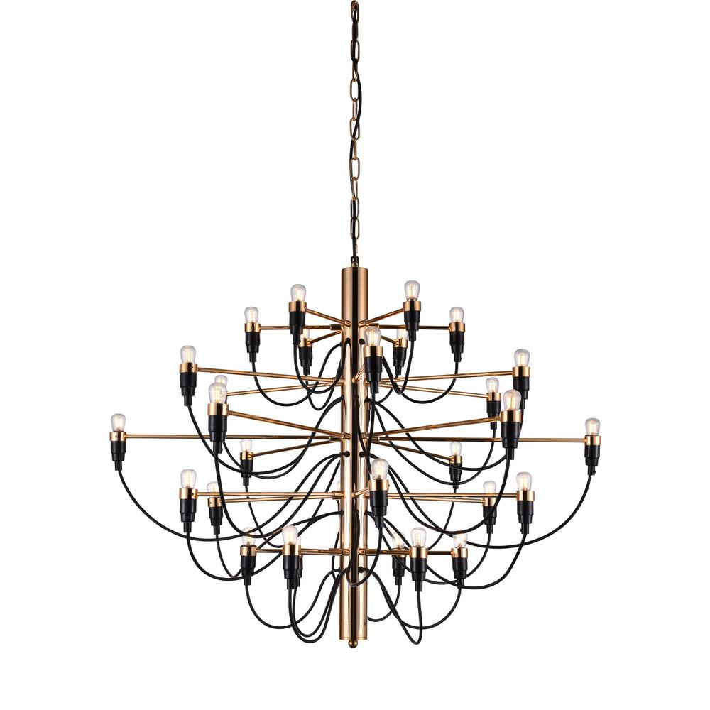 chandelier this by plate is rose ceiling gold light endon innsbruck lights the beautiful