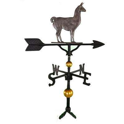 32 in. Deluxe Swedish Iron Weathervane