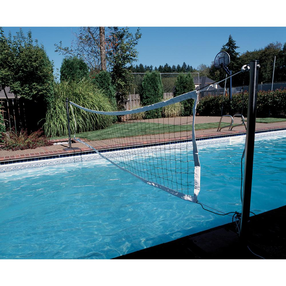 S.R. SMITH Deluxe Swim and Spike Volleyball Game, White