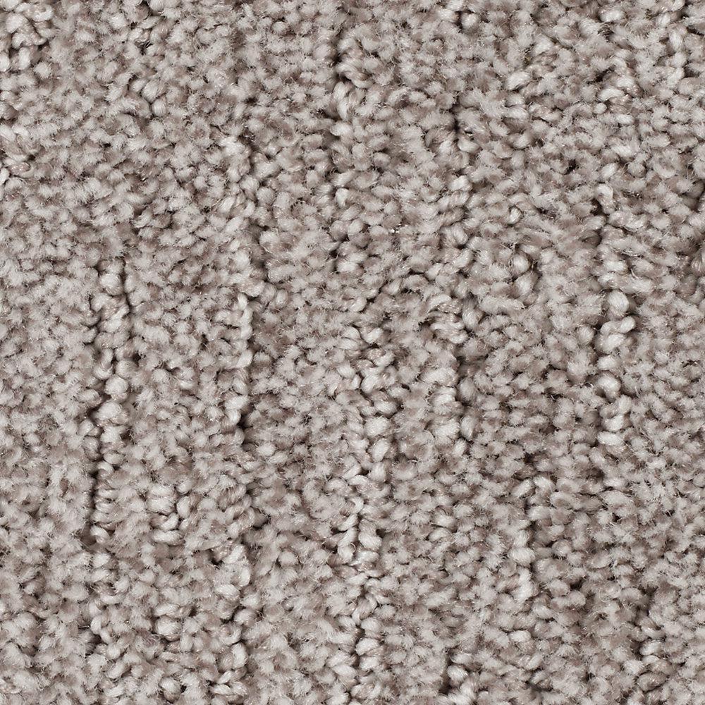 Carpet Sample - Chester - Color Garden Bramble Textured 8 in. x 8 in.