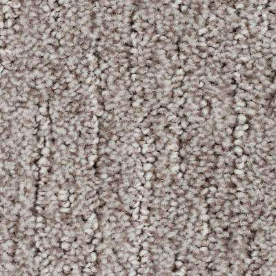 Carpet Sample - Chester - Color Garden Bramble Textured 8 in. x 8 in.