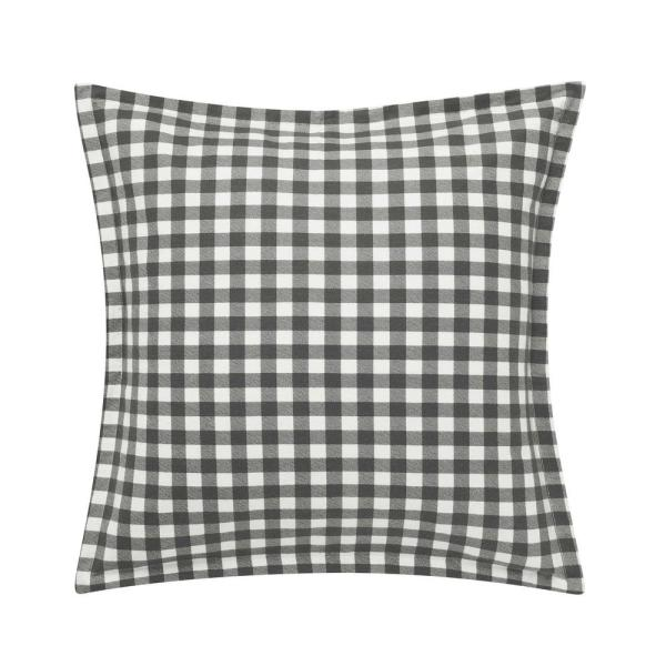 Eddie Bauer Kingston Charcoal Decorative Pillow Cover Set Of 2