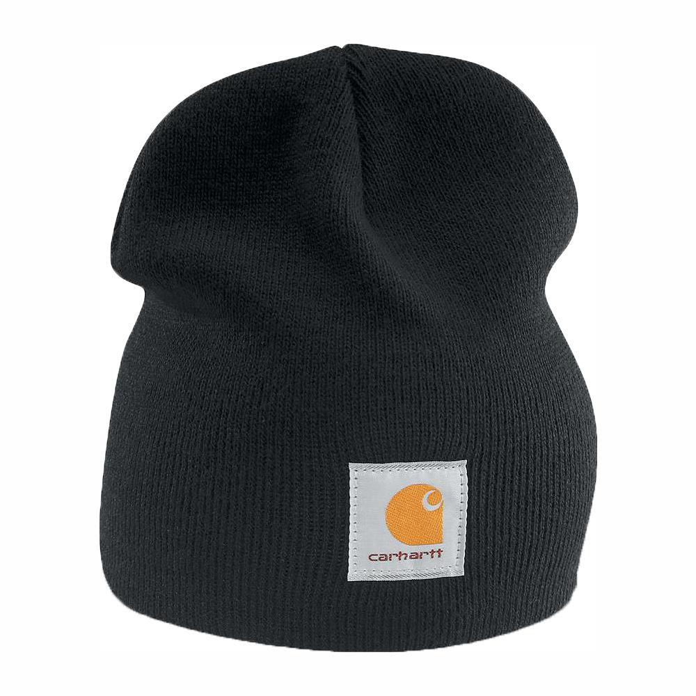 Men's OFA Black Acrylic Hat Headwear