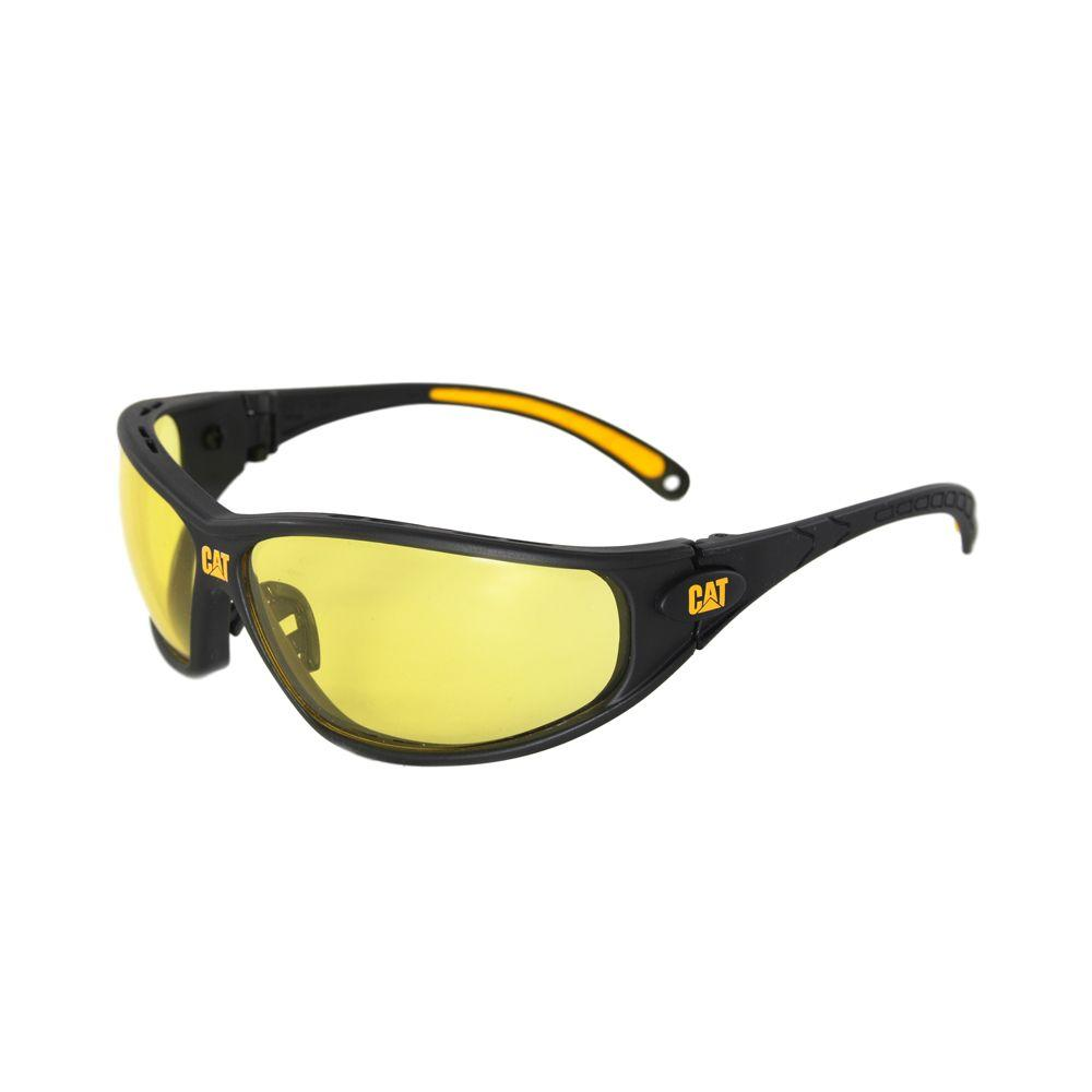 Caterpillar Safety Glasses Tread Yellow Lens With Case