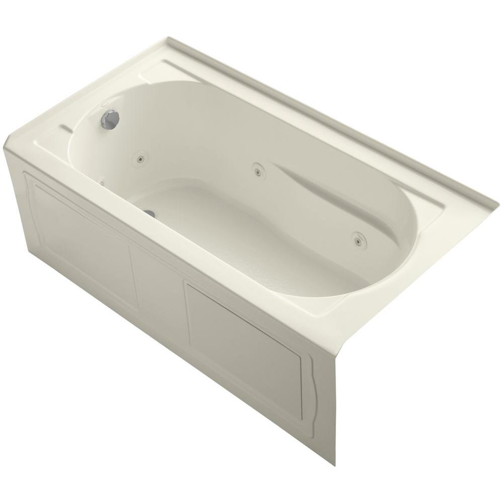KOHLER Devonshire 5 ft. Right-Hand Drain Farmhouse Rectangular ...
