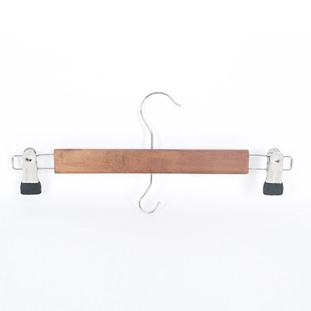 Walnut Wood Pants Hanger (20-Pack)