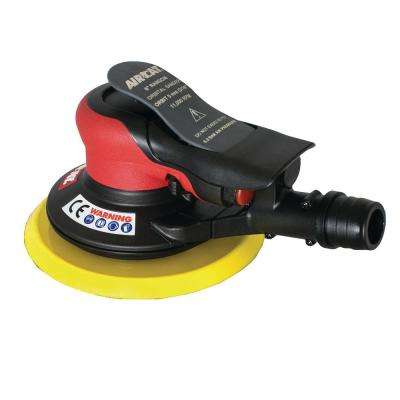 Composite 6 in. Self Vac Orbital Palm Sander 3/16 in. Orbit