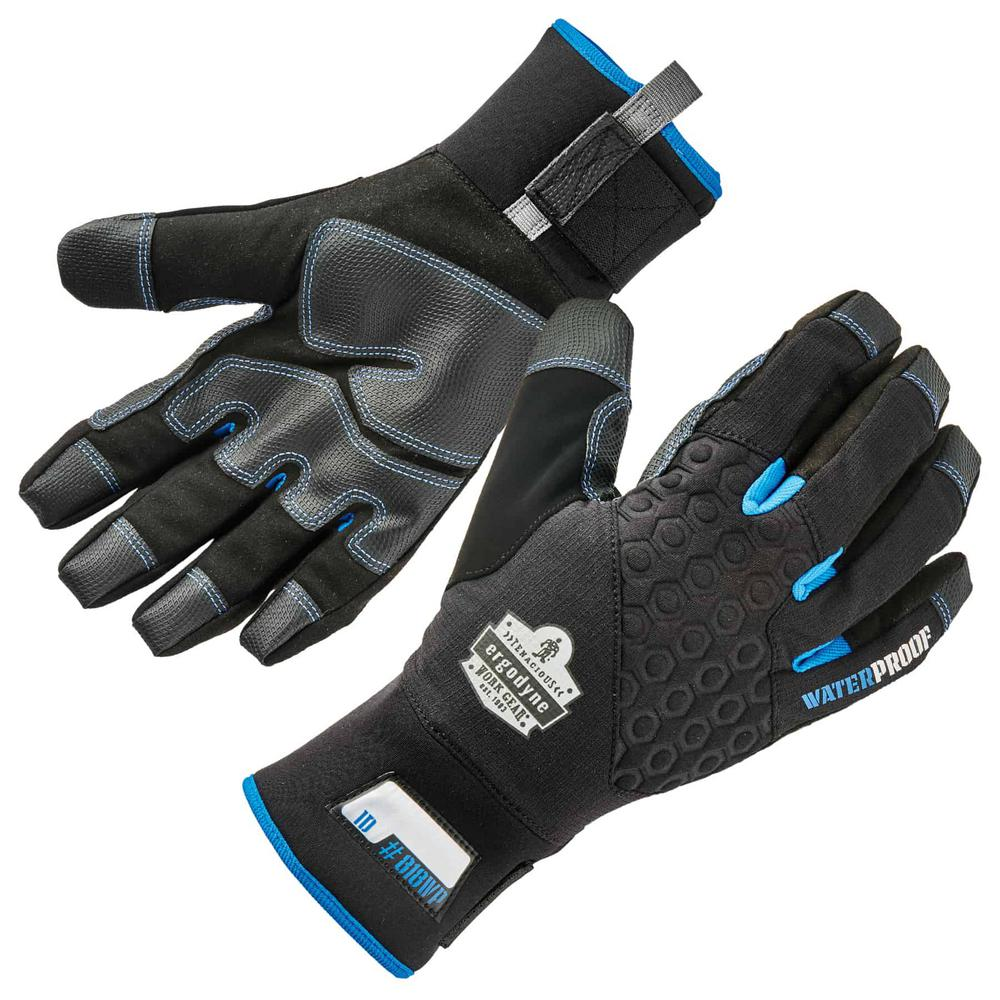 ProFlex 818WP Small Black Performance Thermal Waterproof Utility Gloves