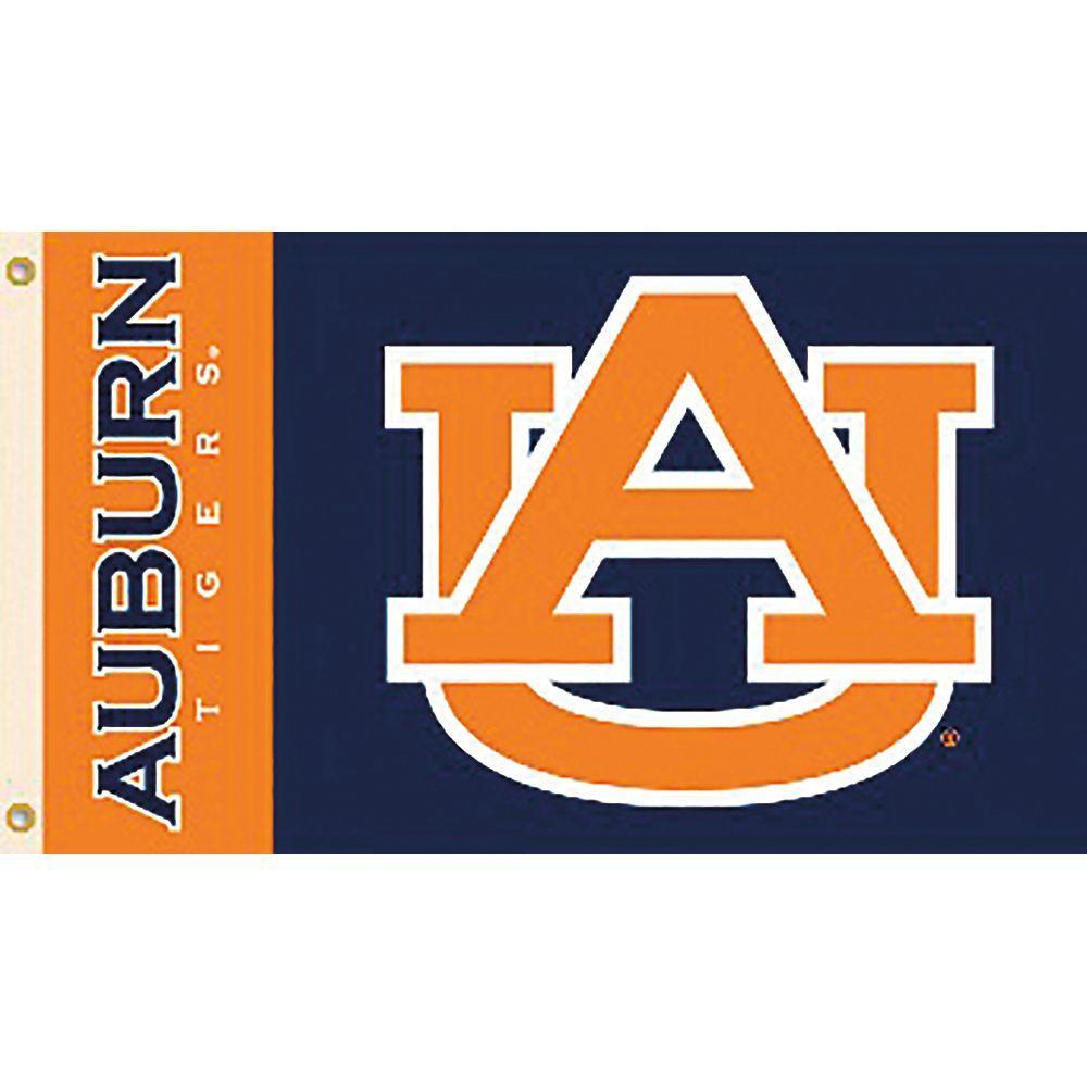 NCAA Auburn University 3 ft. x 5 ft. Collegiate 2-Sided Flag with Brass Grommets