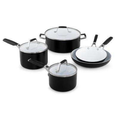 Select 8-Piece Ceramic Nonstick Cookware Set