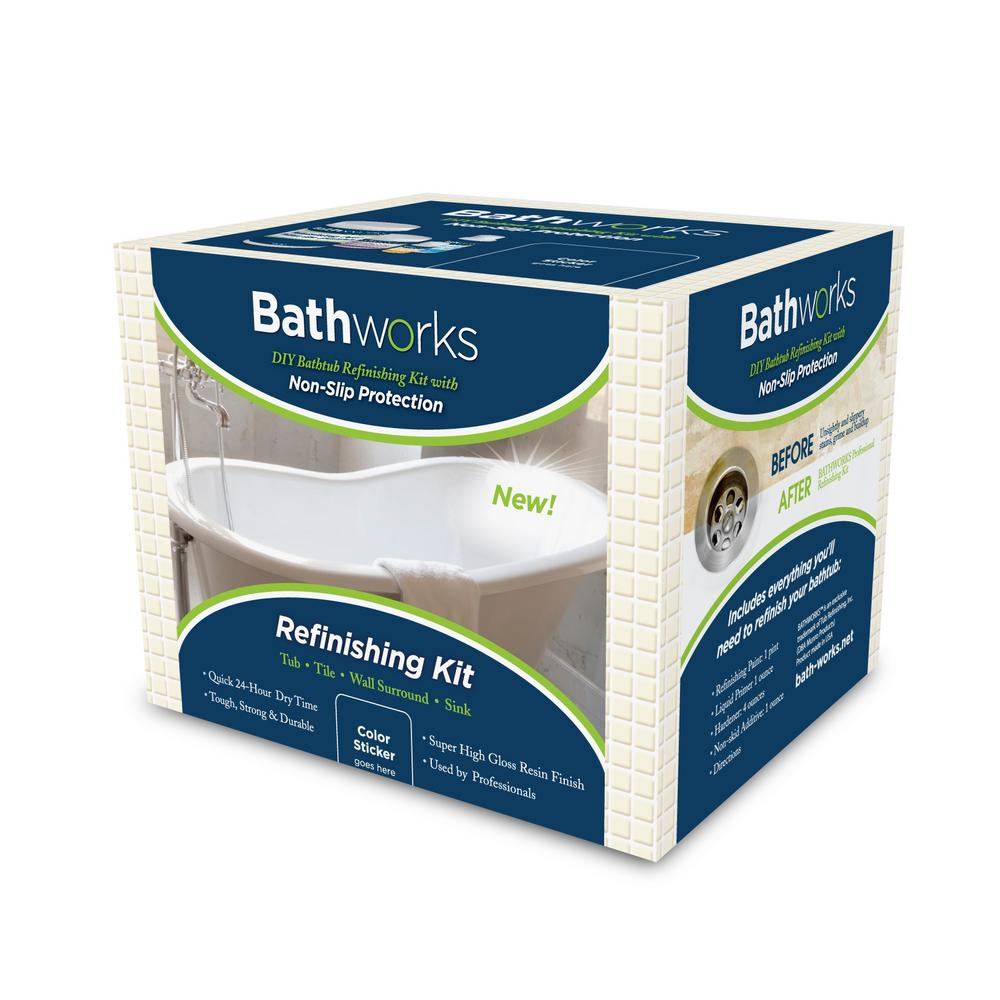 DIY Bathtub Shower Tile Refinishing Kit Porcelain Repair Tub Tile ...