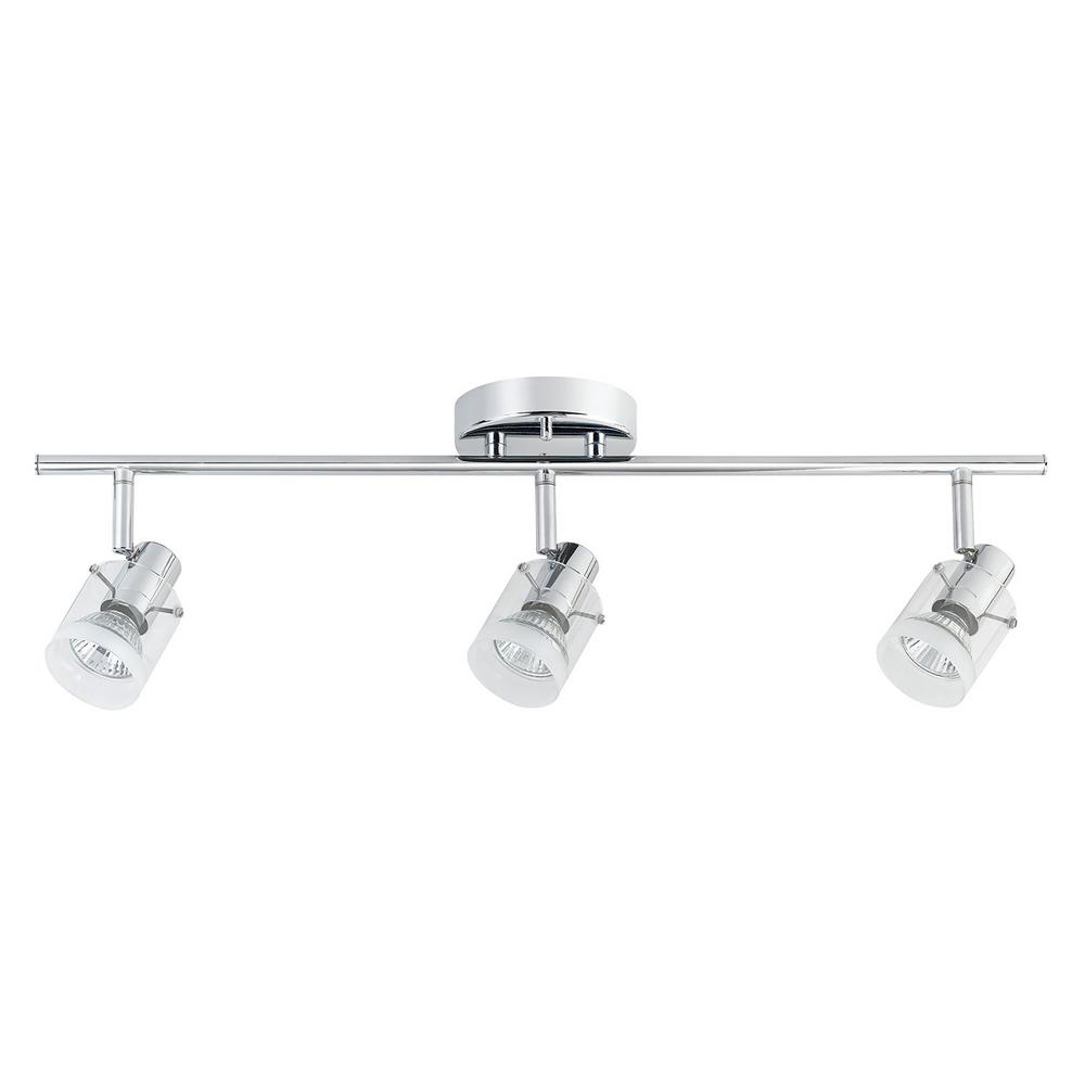 Halo 1.8 ft. 3-Light Chrome Track Lighting Kit