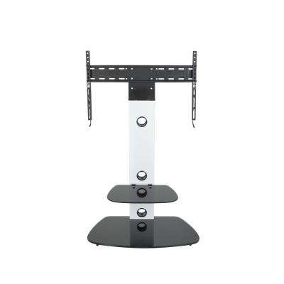Lucerne TV Floor Stand with TV Mounting Column
