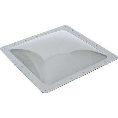 Standard RV 14 in. x 14 in. x 4 in. Skylight