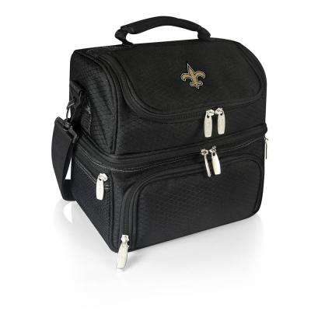Pranzo Black New Orleans Saints Lunch Bag