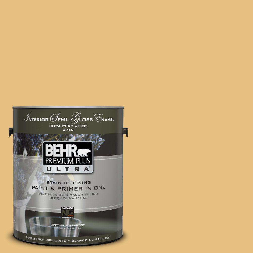 BEHR Premium Plus Ultra 1-gal. #UL180-20 Charismatic Interior Semi-Gloss Enamel Paint
