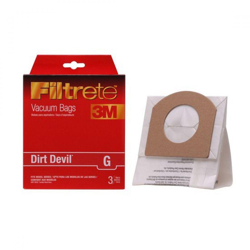 Filtrete 3m Dirt Devil G Vacuum Bags 3