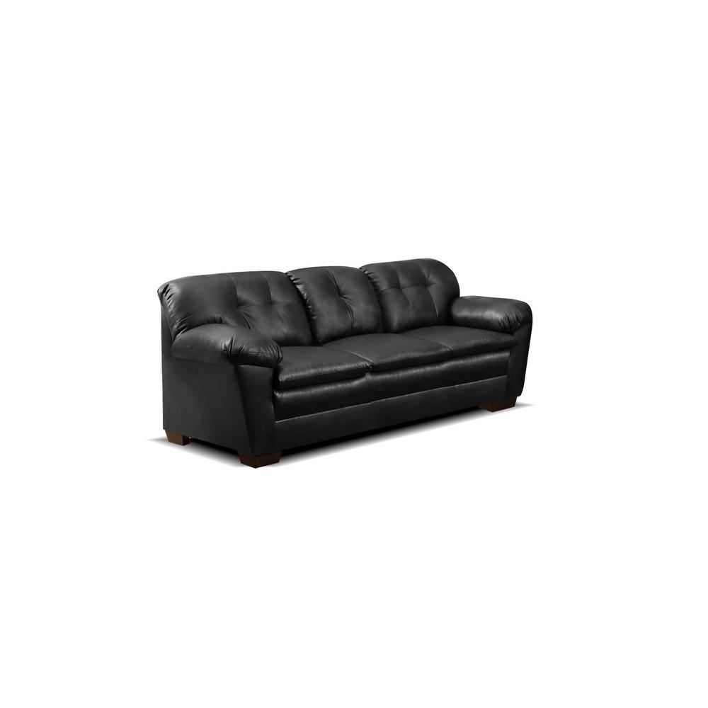 Cow Black Sofa 421200 01s Cbk