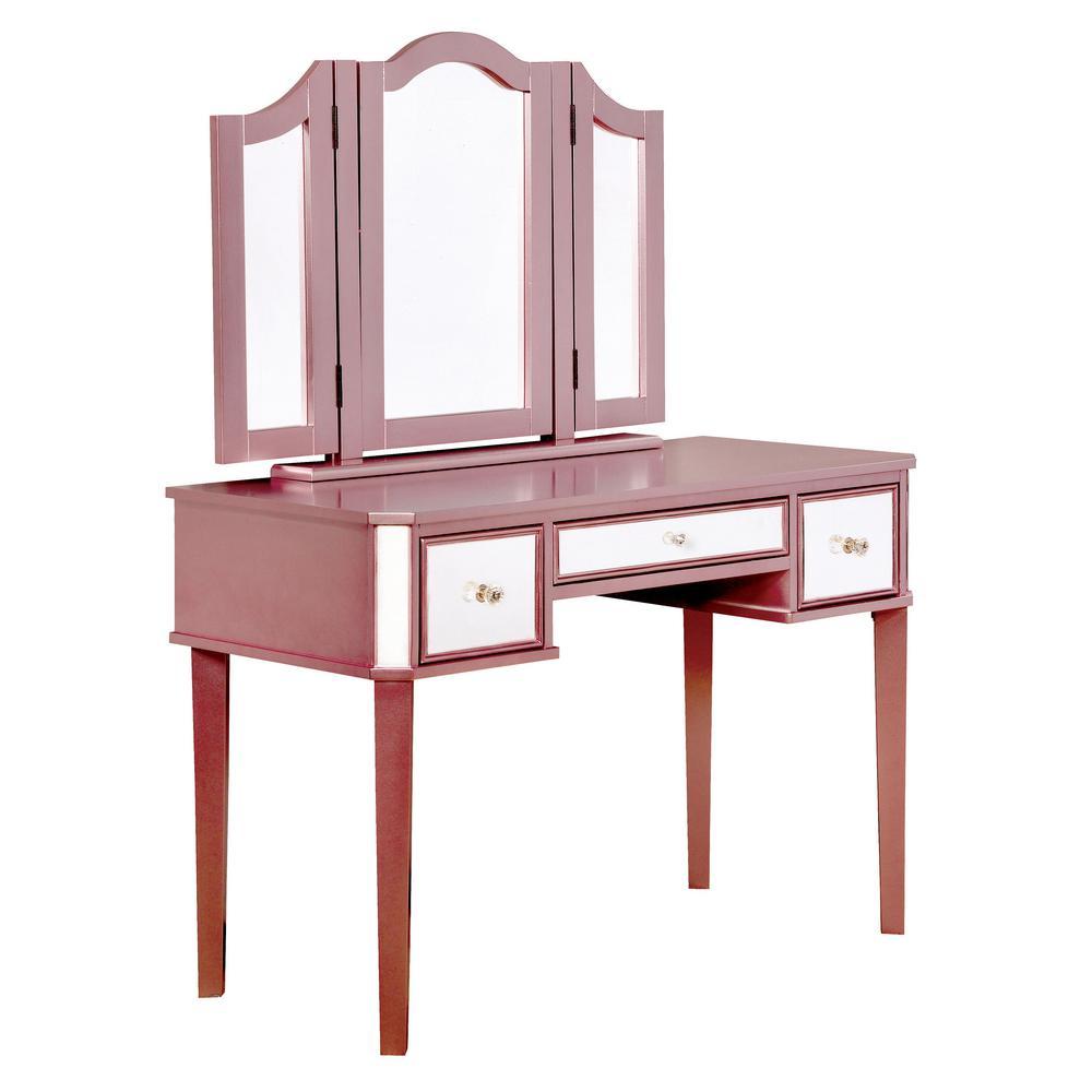 Sensational Vanity Rose Gold Spiritservingveterans Wood Chair Design Ideas Spiritservingveteransorg