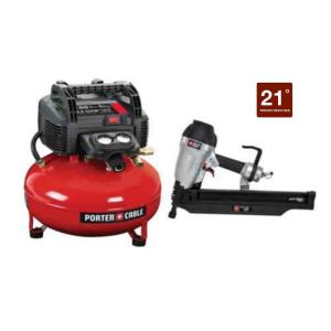 Porter Cable 3 1 2 In Round Head Framing Nailer And