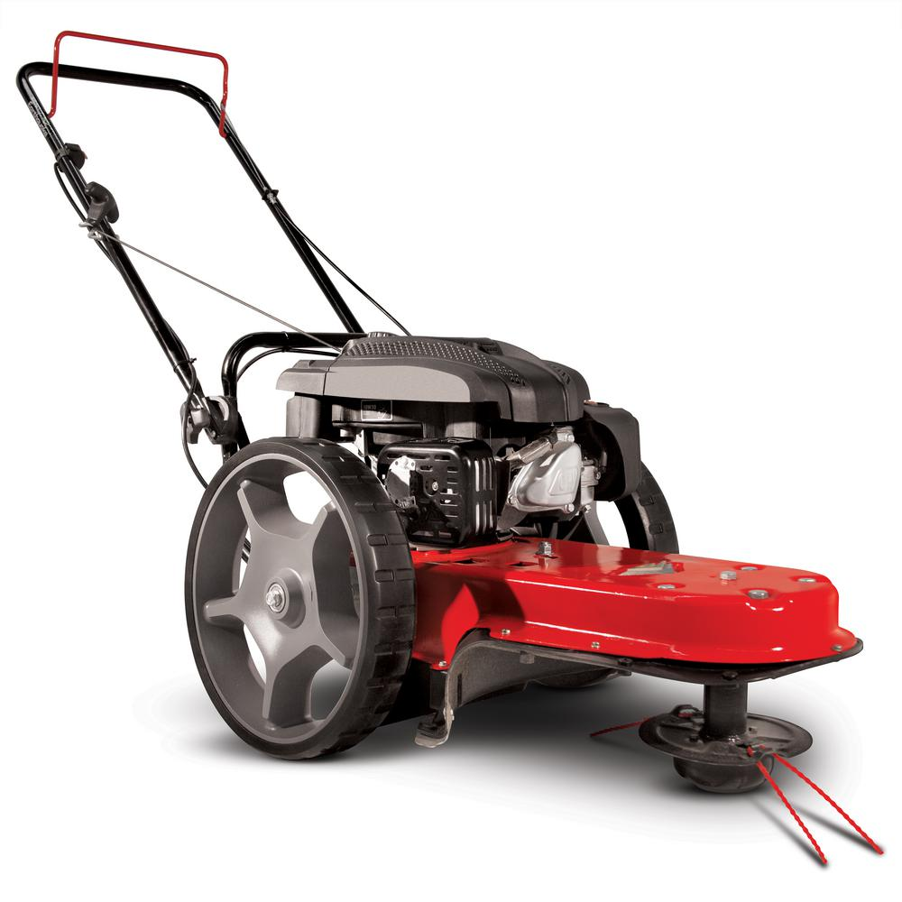 Gas Walk Behind 22 in. Wide String Trimmer Mower with Viper