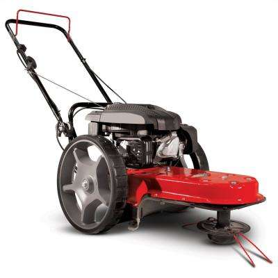 Gas Walk Behind 22 in. Wide String Trimmer Mower with Viper Engine
