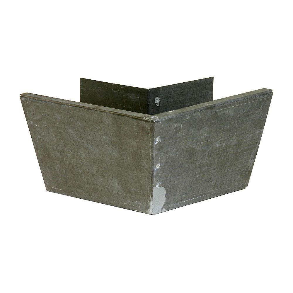 Construction Metals Outside Mitre for 5-1/4 in. Fascia Gutter Bonderized 26-Gauge